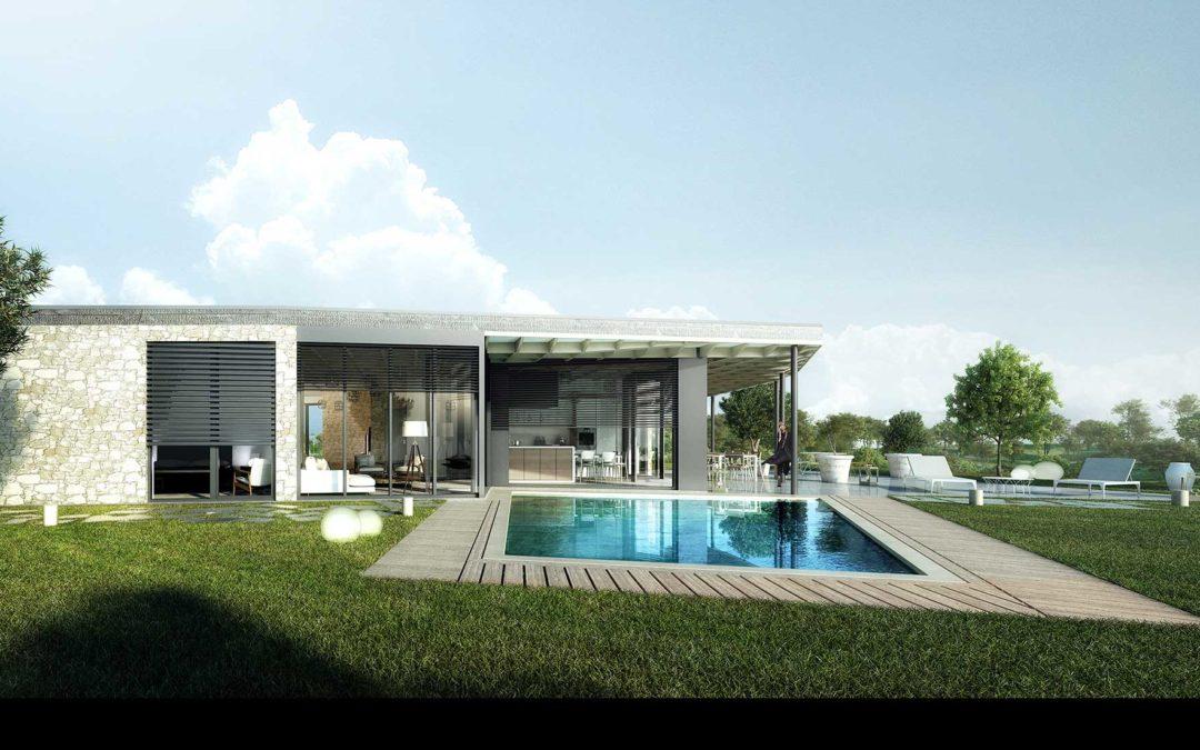 Maison T5 de 212m2 + Terrain à 100m de la plage de Santa Manza
