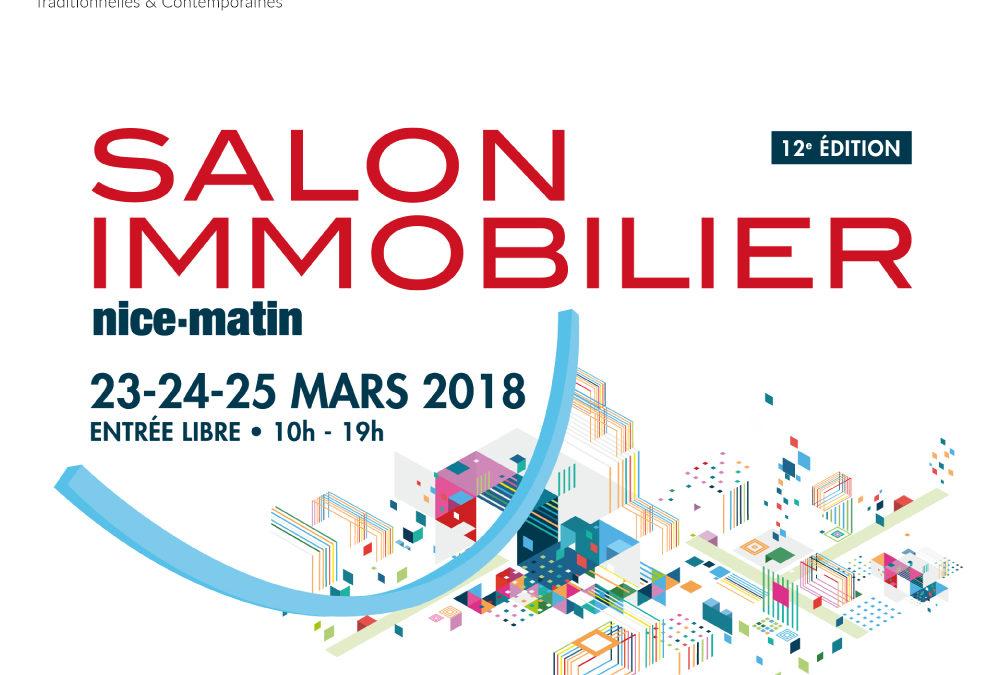 Rendez-vous au salon de l'immobilier à Nice du 23 au 25 Mars