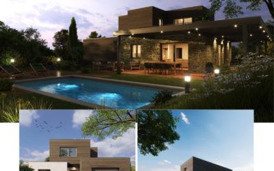 Nouveau modèle de villa prestige