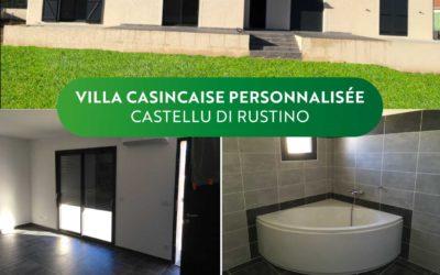 """Livraison villa """"Casincaise"""" à Castellu di Rustinu"""