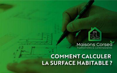 Calcul de la surface habitabled'une maison